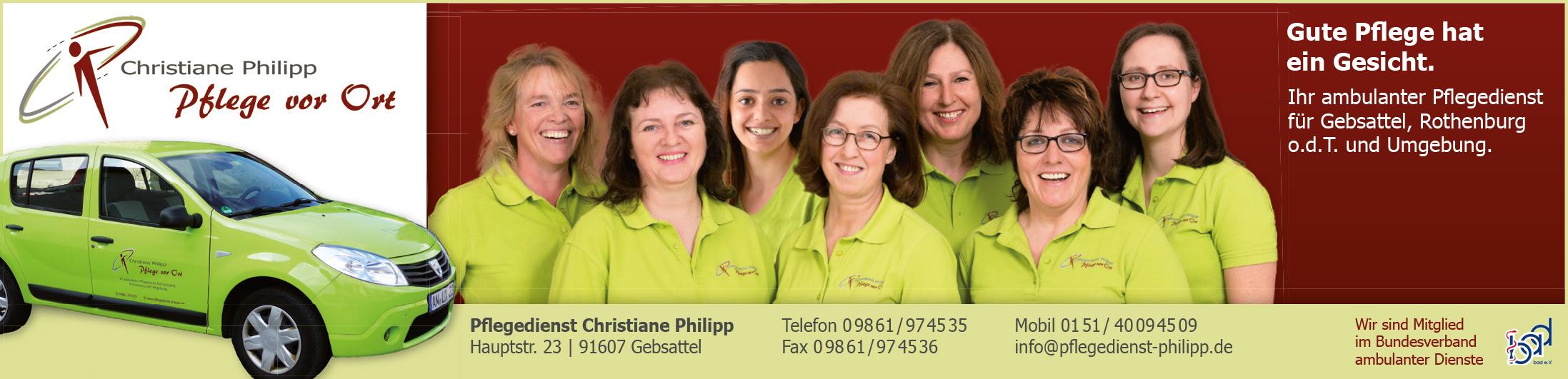 Team Pflegedienst Mai 2016.